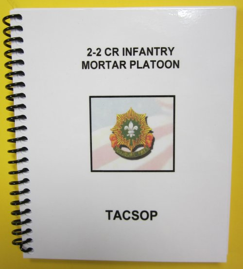 2-2 CR Infantry Mortar Plt - TACSOP