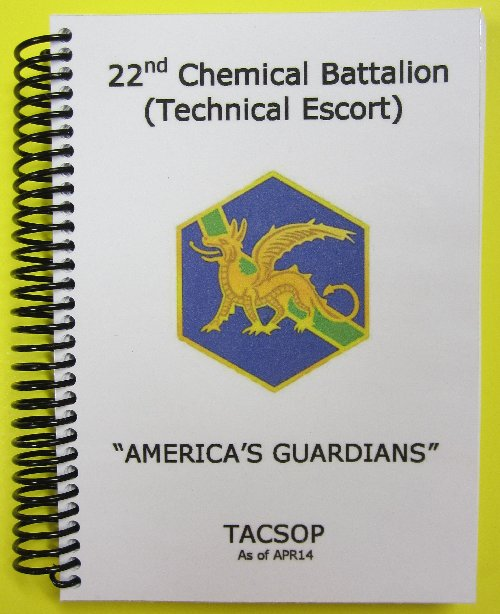 22nd Chemical Bn TACSOP