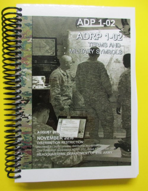 ADP 1-02 and ADRP 1-02 Combo - Terms and Military Symbols