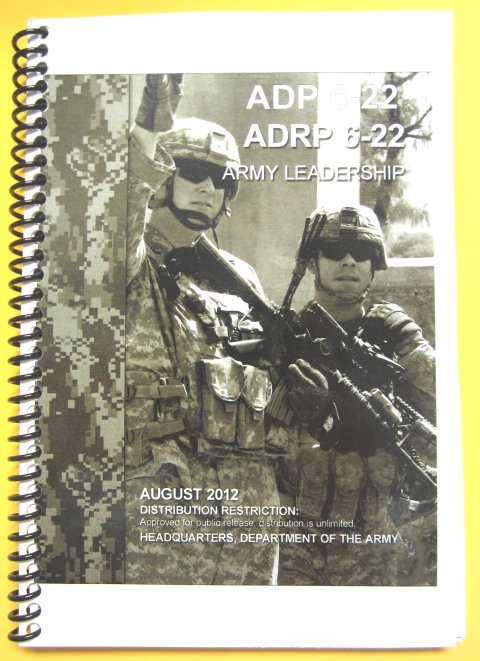 ADP 6-22 Army Leadership with (dual pack) ADRP 6-22