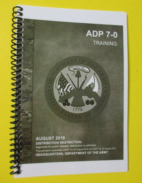 Field manual 7-0 | nco journal.