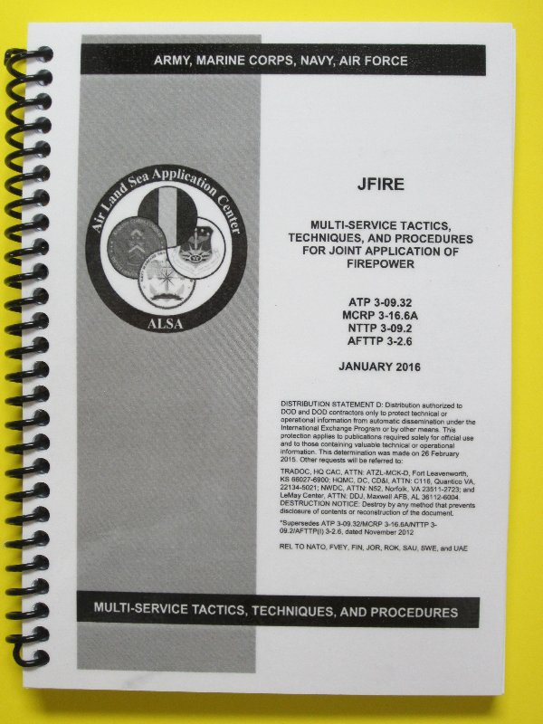 ATP 3-09.32 JFire - All pages laminated