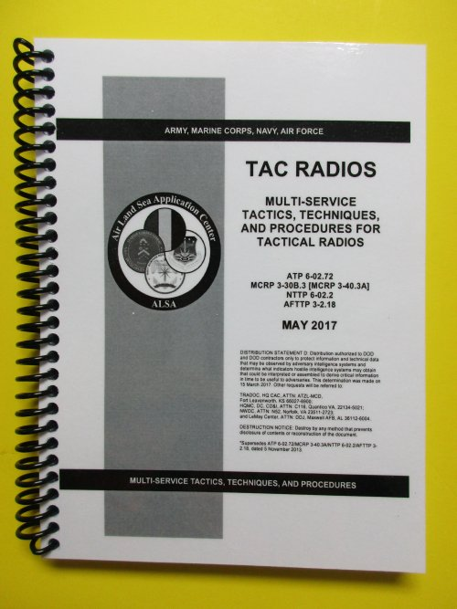 ATP 6-02 72 TAC Radios - 2017 - mini size - $8 95 : My ARMY