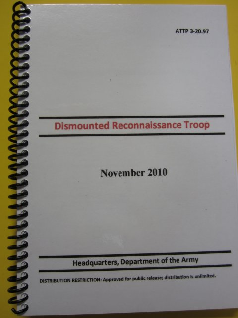 ATTP 3-20.97 Dismounted Recon Troop