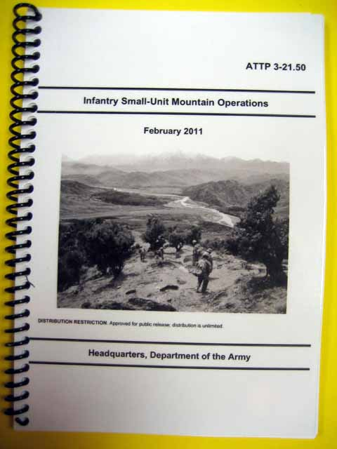 ATTP 3-21.50 Small Unit Mountain Operations