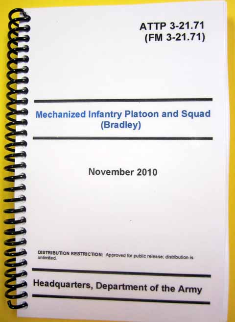 ATTP 3-21.71 Mechanized Inf Plt and Squad - Bradley