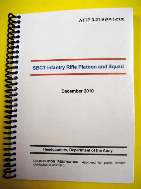 ATTP 3-21.9 SBCT Infantry Rifle Plt and Squad