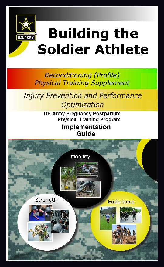 Building the Soldier Athlete - A PT Supplement