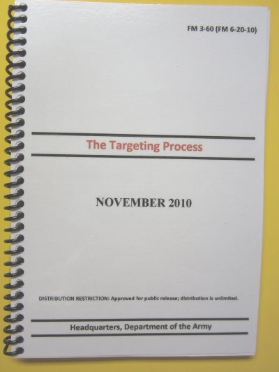 FM 3-60 The Targeting Process