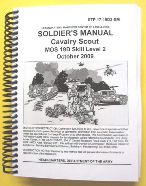 19D Cavalry Scout