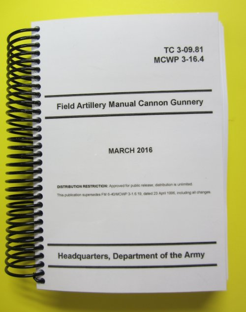 TC 3-09.81 Field Artillery Manual Cannon Gunnery - mini size