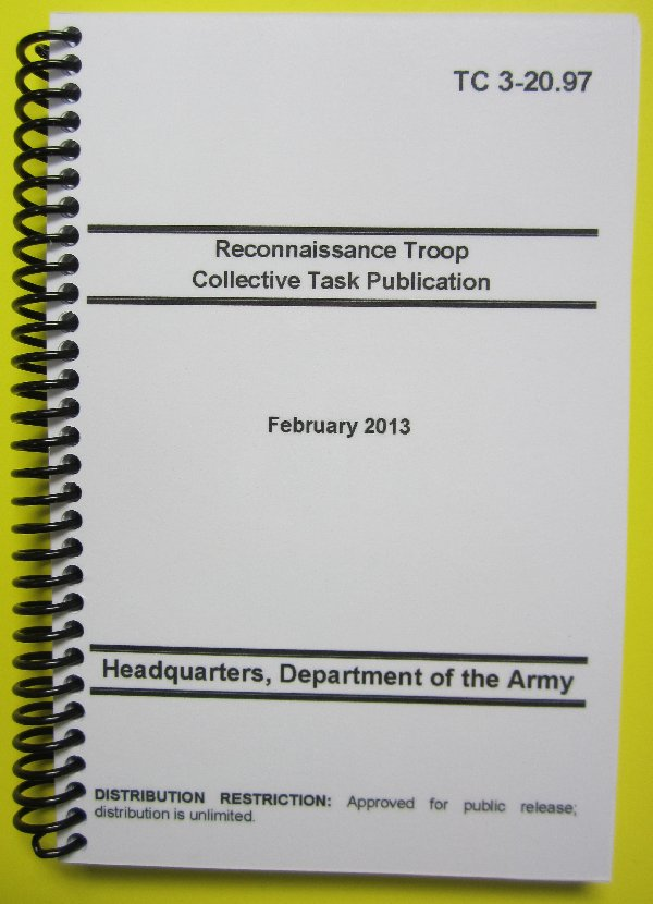 TC 3-20.97 Reon Troop Collective Task Publication