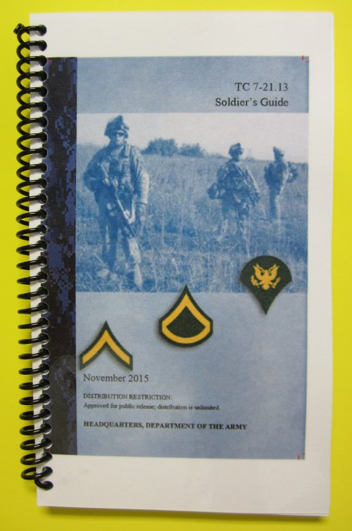 TC 7-21.13 Soldier's Guide - 2015