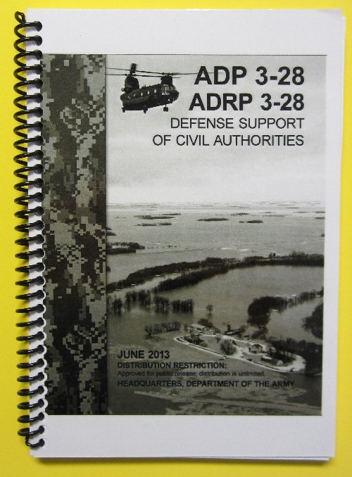 ADP and ADRP 3-28 Combo, Defense Support of Civil Authorities
