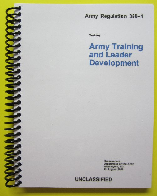 AR 350-1, Army Training and Leader Development