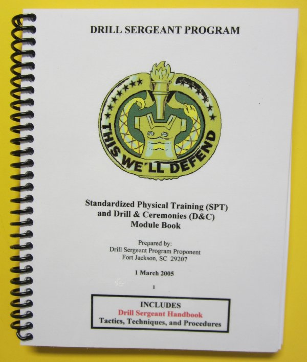 Drill Sergeant Modules PLUS DVD