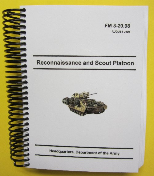 FM 3-20.98 Recon and Scout Platoon