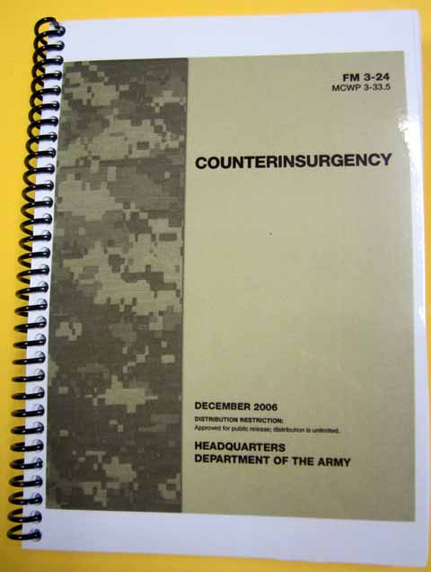FM 3-24 Counter Insurgency (Replaced by newer version)