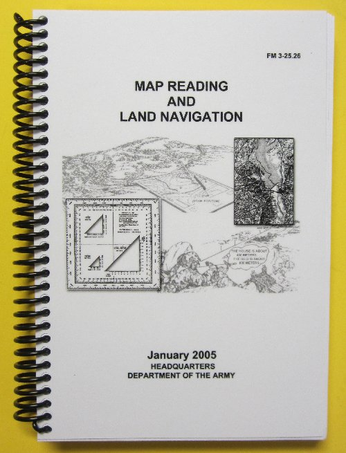 Map Reading And Land Navigation FM Download PDF Books - Us army map reading
